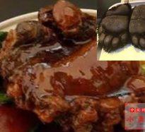427:クマの手の旨味煮