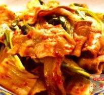 342:豚肉とキムチ炒め