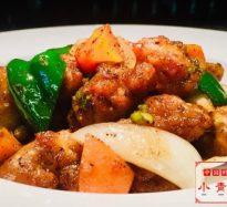 347:鶏肉の黒胡椒炒め
