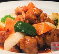 345:鶏肉の甘味噌炒め
